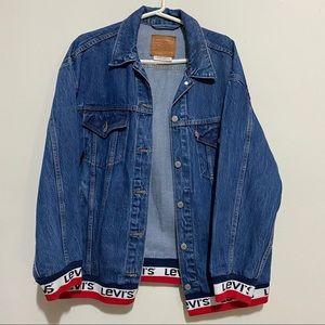Vintage LEVI'S Denim Jean Jacket Oversized